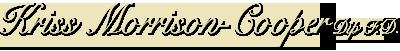 Welcome To Kriss Morrison-Cooper Independent Funeral Directors Ltd
